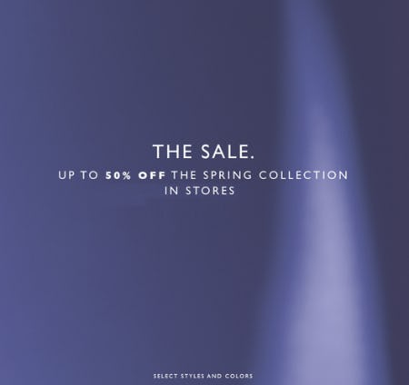 Up to 50% Off The Spring Collection from STUART WEITZMAN