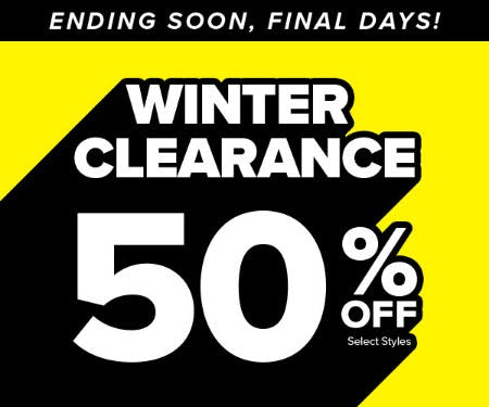 50% Off Winter Clearance from Rainbow