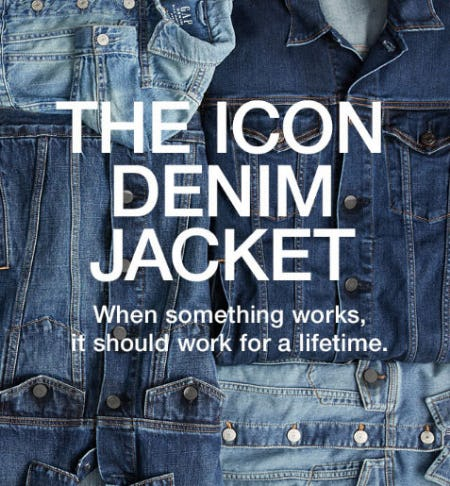 The Icon Denim Jacket