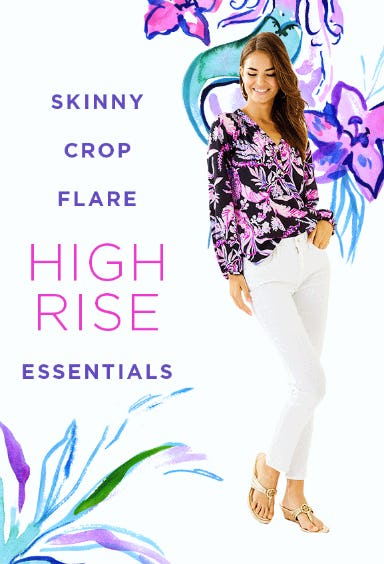 High Rise Essentials from Lilly Pulitzer