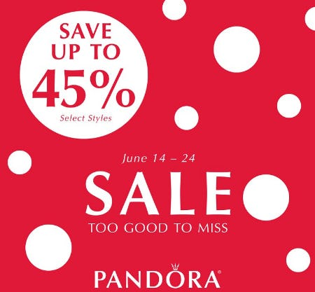 Save up to 45% Select Styles