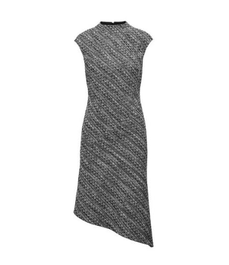 Tweed Mock-Neck Sheath Dress from Banana Republic
