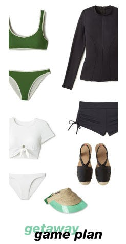 Sporty-Chic Pieces for Vacation from Everything But Water