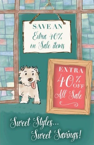 Semi-annual Sale: Extra 40% Off from Altar'd State