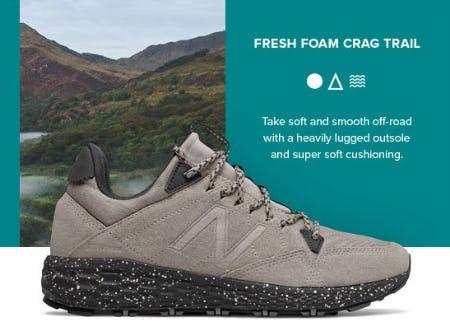 Fresh Foam Crag Trail from New Balance