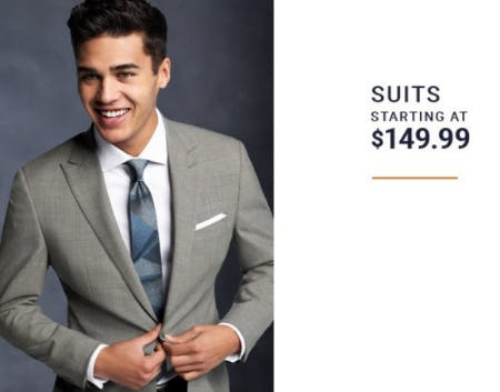Suits Starting at $149.99 from Men's Wearhouse