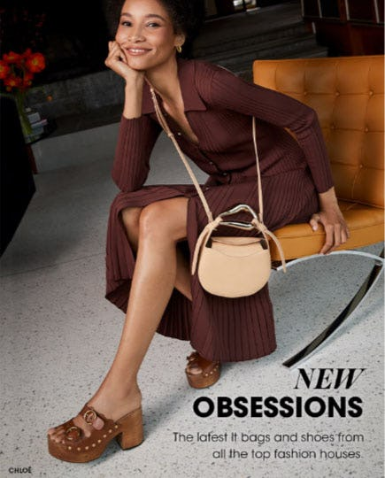 New Obsessions from Bloomingdale's