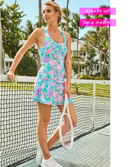 Tennis Style You'll Love on & Off the Court from Lilly Pulitzer