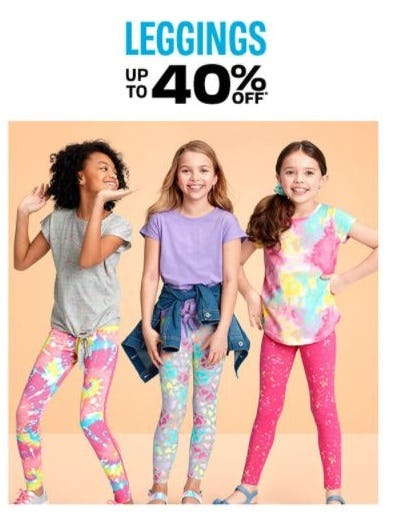 Up to 40% Off Leggings