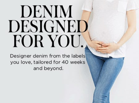 Denim Designed for You from A Pea In The Pod, Maternity Redefined