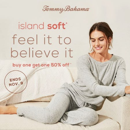 Buy One Get One 50% Off! from Tommy Bahama