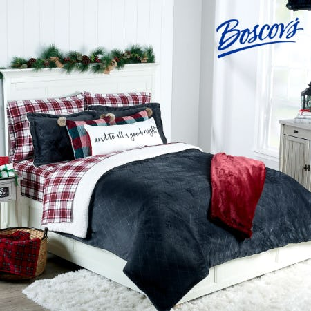 Boscov's Holiday Home Sale from Boscov's