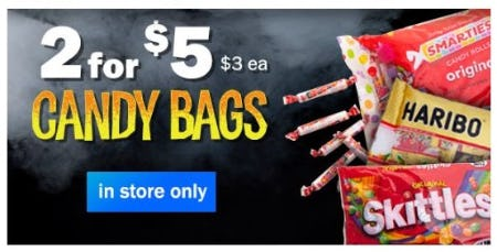 2 for $5 Candy Bags from Five Below