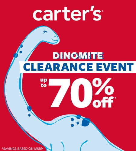 Dinomite Clearance Event- Up to 70% off