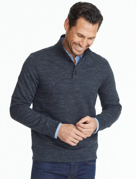Meet the Henley Pullover