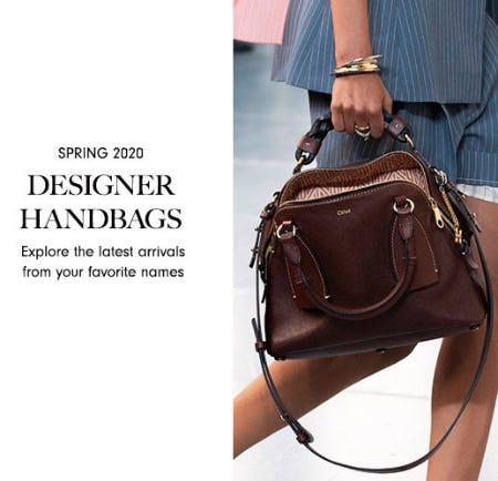 Spring 2020 Designer Handbags