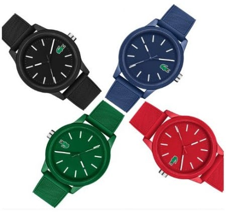Sport Watches for Dad from Lacoste