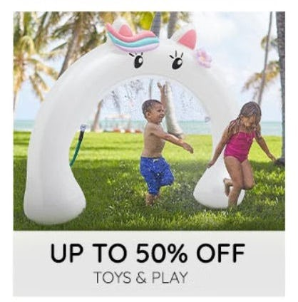 Up to 50% Off Toys and Play from Pottery Barn Kids