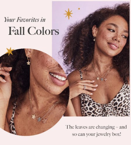 Your Favorites in New Fall Colors from Kendra Scott