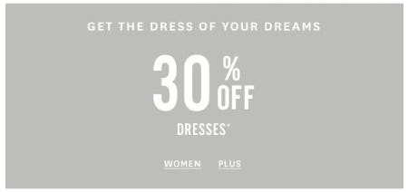 30% Off Dresses from Lucky Brand Jeans