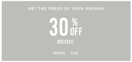 30% Off Dresses