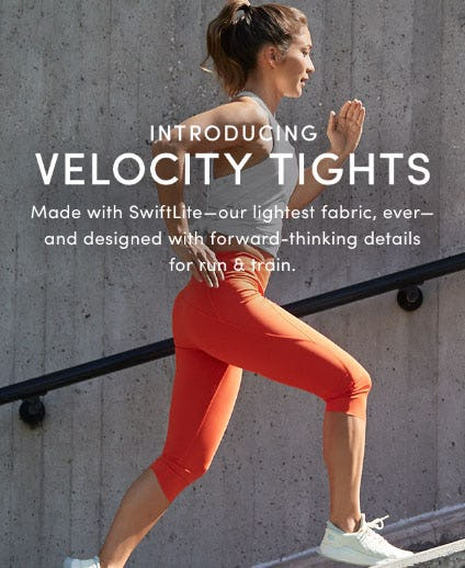 Introducing Velocity Tights from Athleta