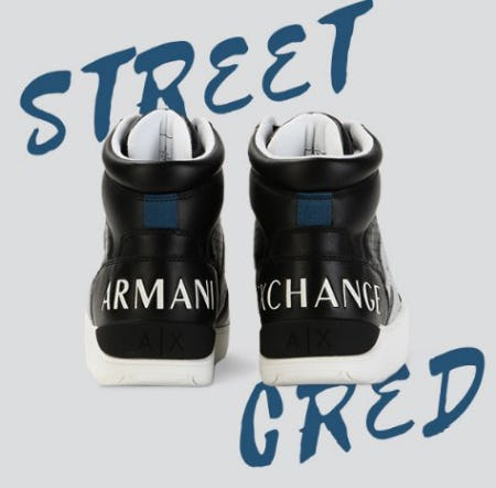 Update Your Sneaker Collection from A|X Armani Exchange