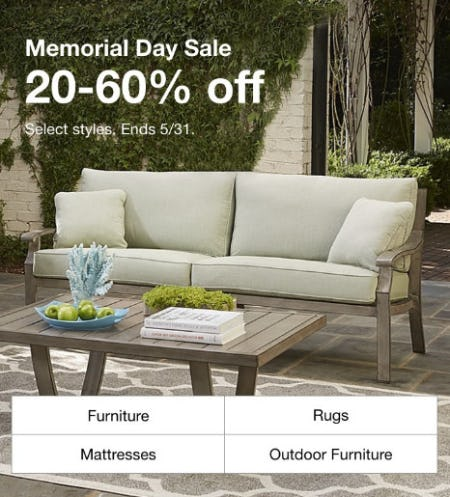 Memorial Day Sale: 20-60% Off from macy's