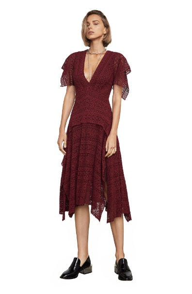 Juliette Lace Handkerchief Dress