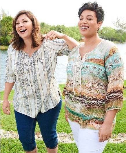 Peasant Tops Perfect for Summer from Catherines Plus Sizes