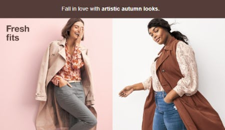 Fall Outfits to Fall For from Target