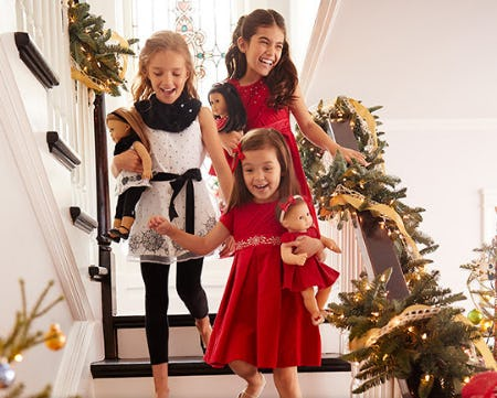Festive New Outfits from American Girl
