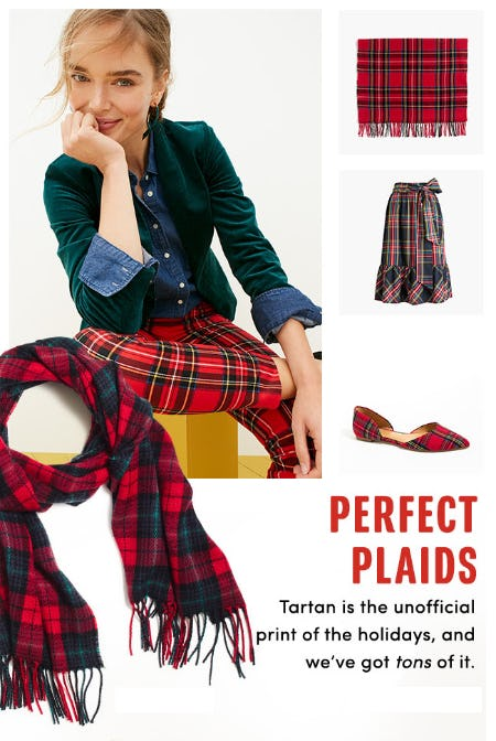 The Perfect Plaids from J. Crew Factory