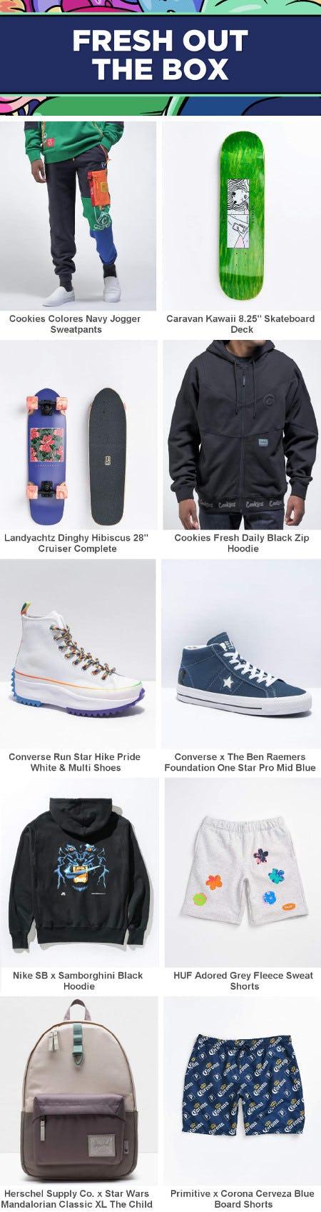 Shop New Arrivals from Zumiez