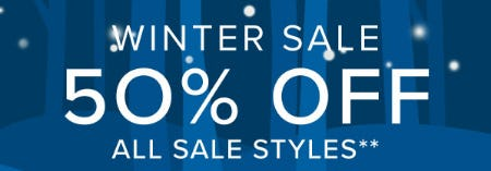 50% Off Winter Sale from Vera Bradley