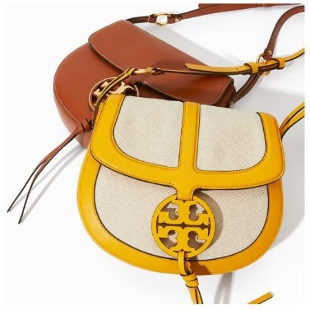 The New Miller Saddlbag from Tory Burch
