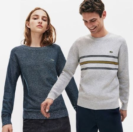 Now in Session: Sweater Season from Lacoste