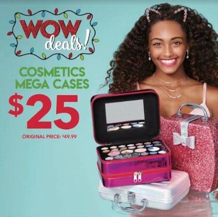 Cosmetic Mega Cases $25