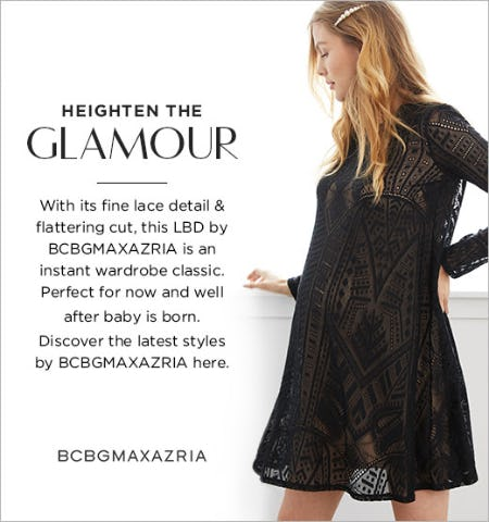 LBD by BCBGMAXAZRIA from A Pea In The Pod, Maternity Redefined