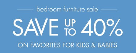 Save Up to 40% on Favorites for Kids & Babies