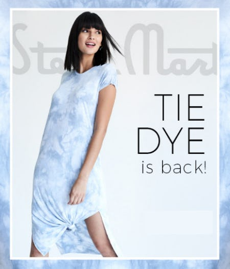 Tie Dye is Back from Stein Mart