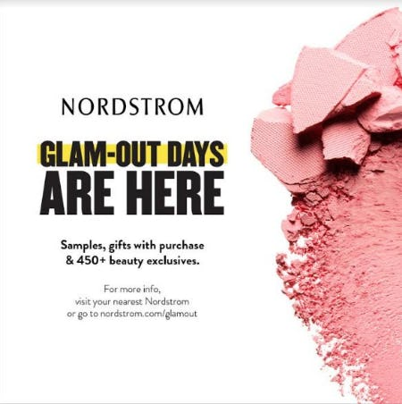 Glam-Out Days are Here from Nordstrom