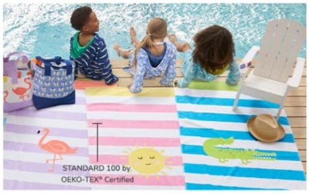 Beach Towels Made for Summer from Pottery Barn Kids