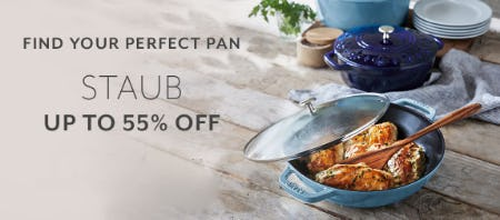Up to 55% Off Staub