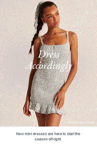 Dress Accordingly from Abercrombie & Fitch