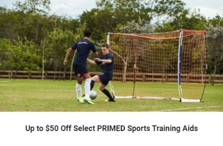 Up to $50 Off Select PRIMED Sports Training Aids from Dick's Sporting Goods