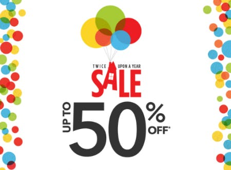 Up to 50% Off Twice Upon a Year Sale from Disney Store