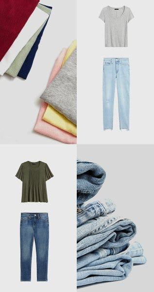 Tees and Jeans are Better Together from Banana Republic