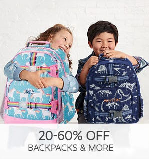 20-60% Off Backpacks & More from Pottery Barn Kids