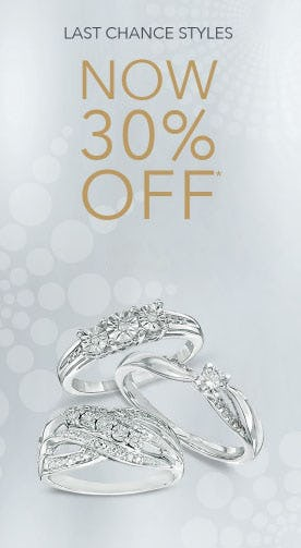 30% Off Last Chance Styles from Piercing Pagoda